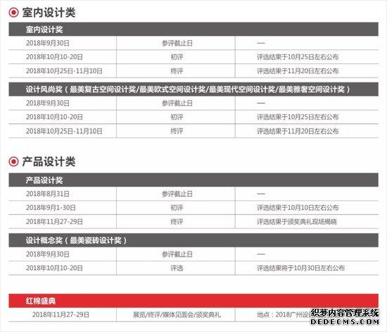 """当""""红""""不让――2018红棉中国设计奖年度评选开启,奖项报名火热征集中!"""