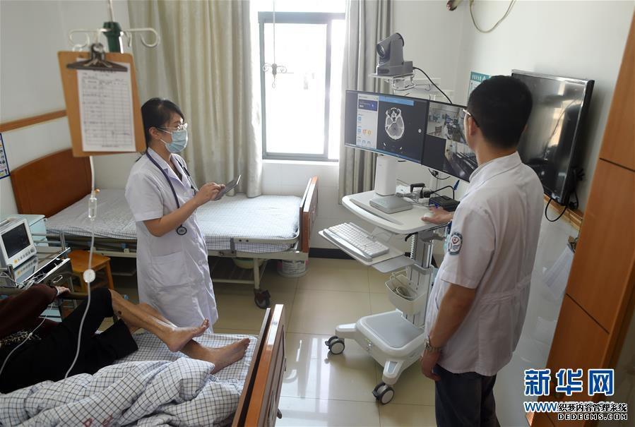 探访浙江首家县域医共体5G远程智慧病房