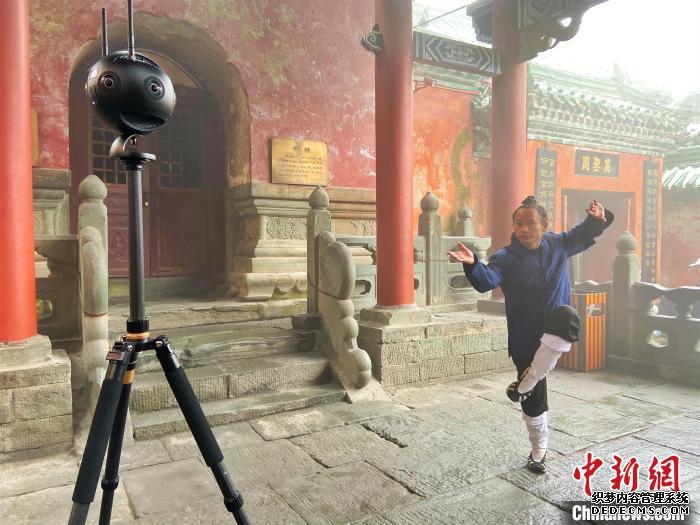 太极表演全景VR拍摄 王政 摄